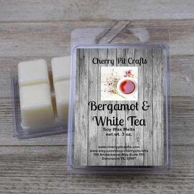 Bergamot & White Tea Soy Wax Melts