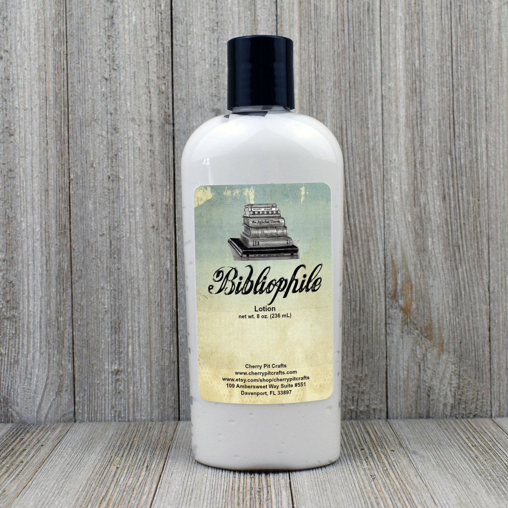 Bibliophile Goats Milk and Honey Lotion