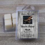 Black Amber Musk Soy Wax Melts