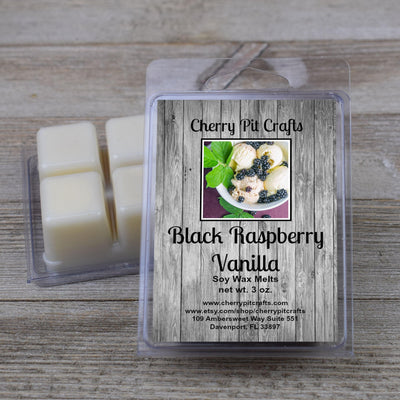 Black Raspberry Vanilla Soy Wax Melts