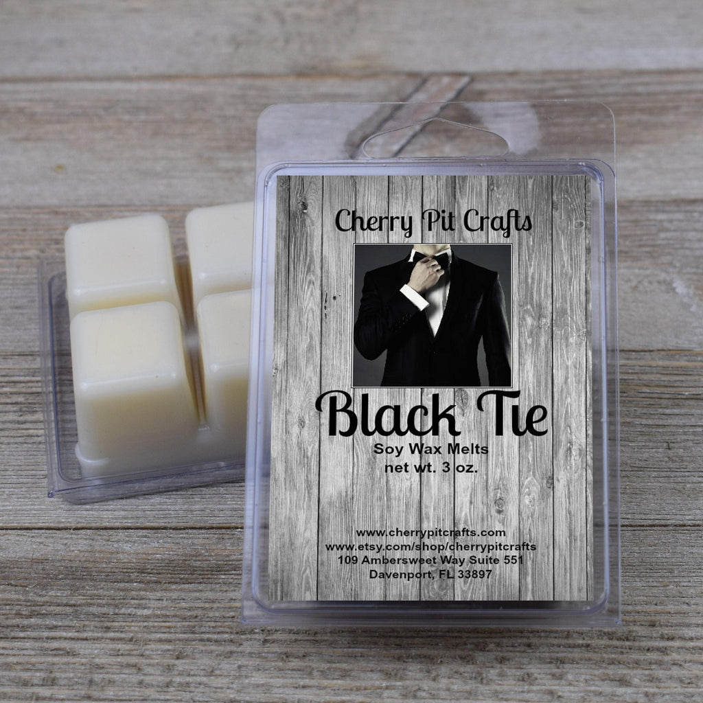 Black Tie Soy Wax Melts