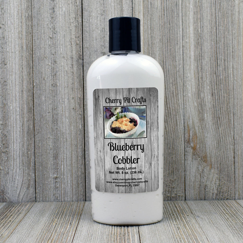 Blueberry Cobbler Body Lotion - Cherry Pit Crafts