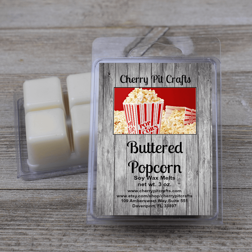 Buttered Popcorn Soy Wax Melts