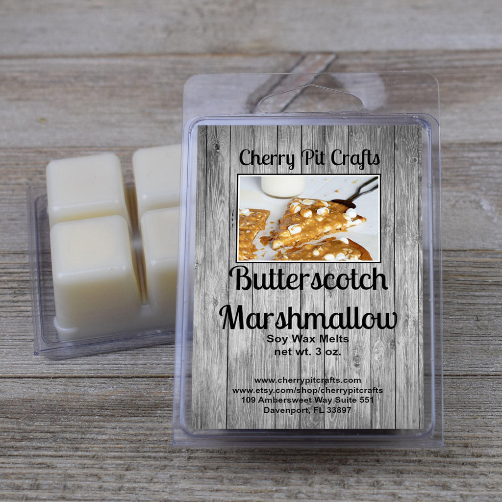 Butterscotch Marshmallow Soy Wax Melts