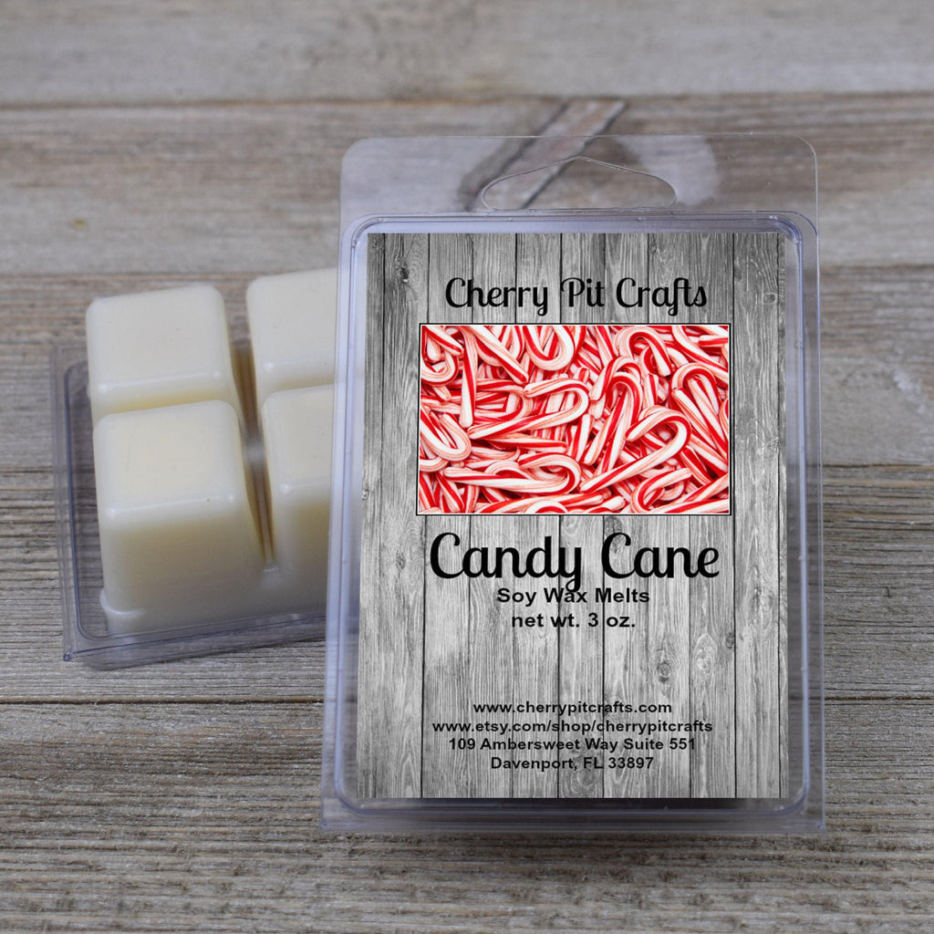 Candy Cane Soy Wax Melts
