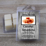Caramel Sensations Soy Wax Melts - Cherry Pit Crafts