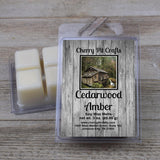 Cedarwood Amber Soy Wax Melts