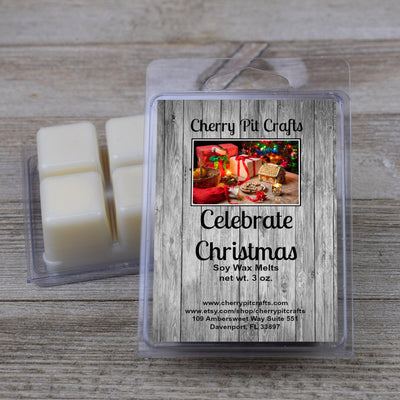 Celebrate Christmas Soy Wax Melts