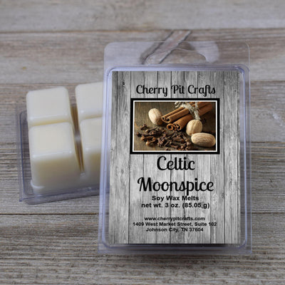 Celtic Moonspice Soy Wax Melts - Cherry Pit Crafts