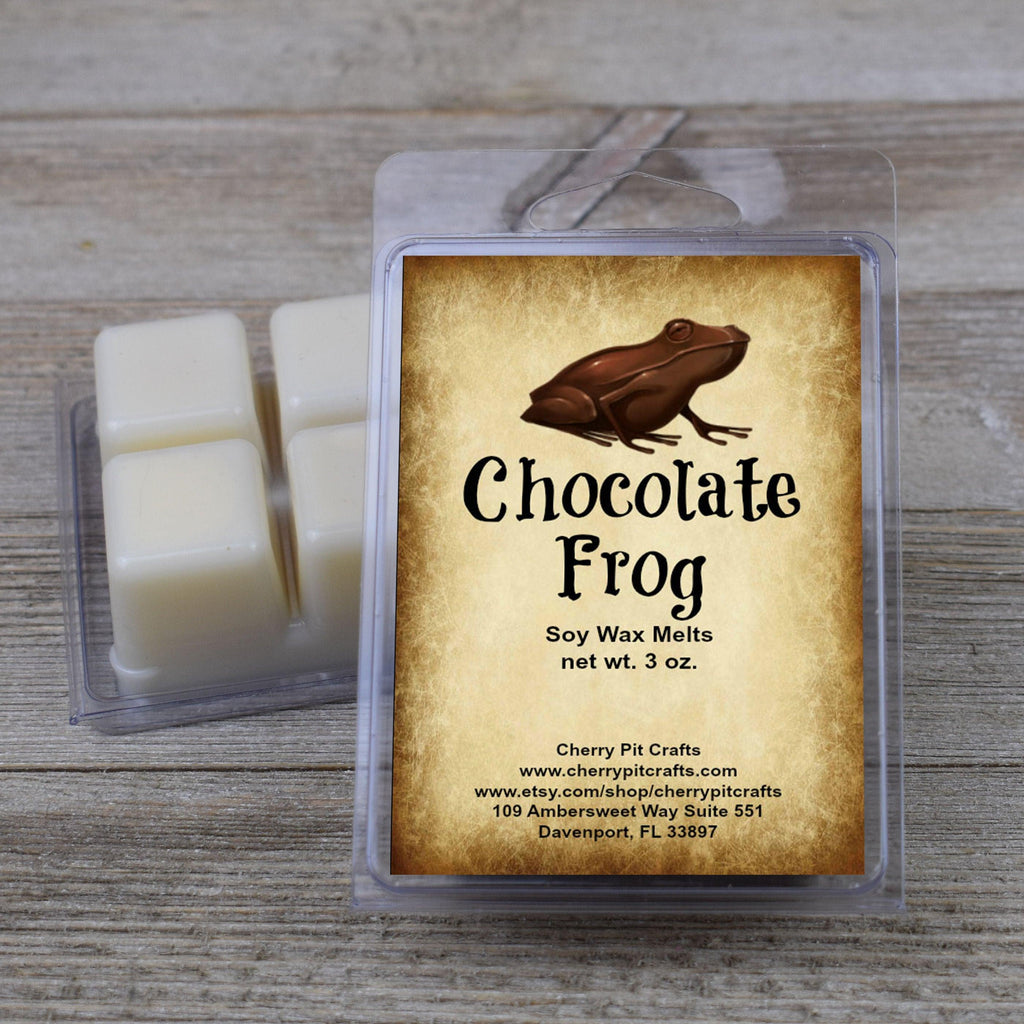 Chocolate Frog Harry Potter Themed Soy Wax Melts