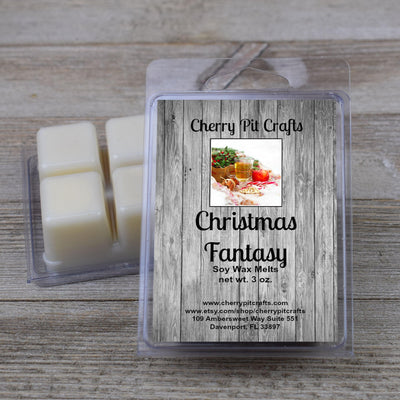 Christmas Fantasy Soy Wax Melts