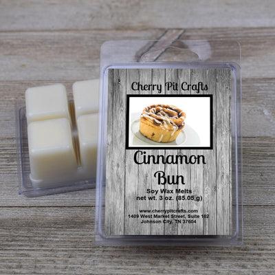 Cinnamon Bun Soy Wax Melts - Cherry Pit Crafts