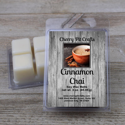 Cinnamon Chai Soy Wax Melts - Cherry Pit Crafts