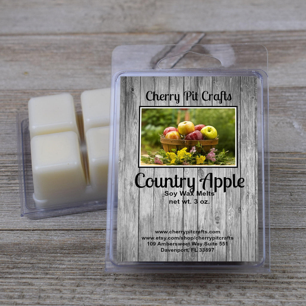 Country Apple Soy Wax Melts