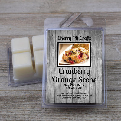 Cranberry Orange Scone Soy Wax Melts