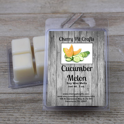 Cucumber Melon Soy Wax Melts