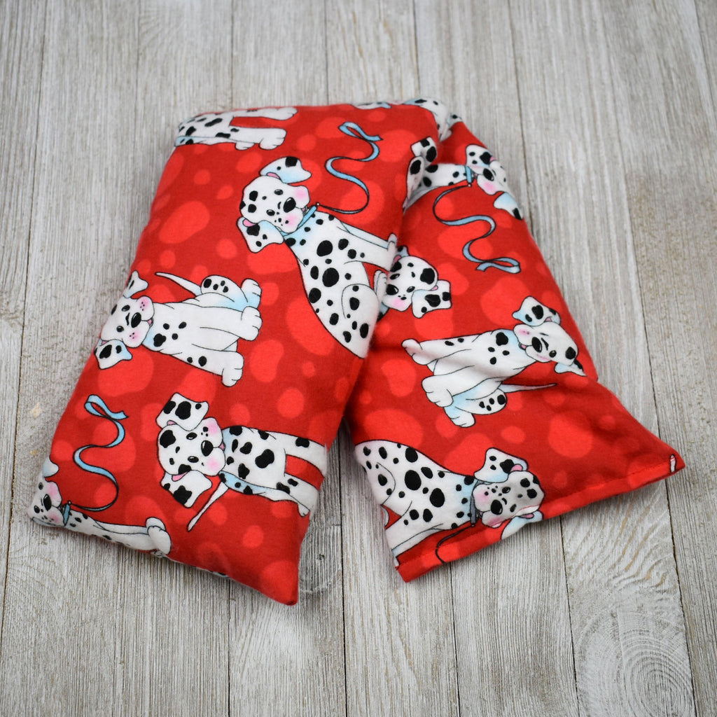 Cherry Pit Heating Pad - Dalmations on Red