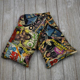 Cherry Pit Heating Pad - Doctor Who Comic Book Tossed Comics