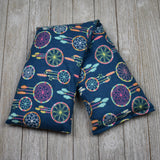 Cherry Pit Heating Pad - Dream Catchers on Navy