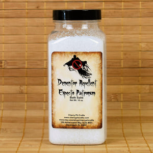 Expecto Patronum Dementor Repellent Harry Potter Themed Bath Salt