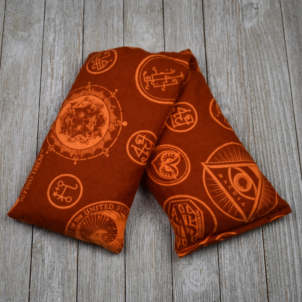 Cherry Pit Heating Pad - Harry Potter Fantastic Beasts - Rust