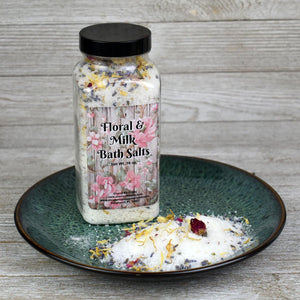 Floral & Milk Bath Salts