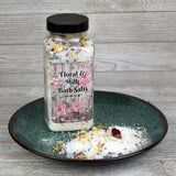 Floral & Milk Bath Salts - Cherry Pit Crafts
