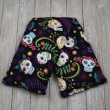 Cherry Pit Heating Pad - Flower Sugar Skulls