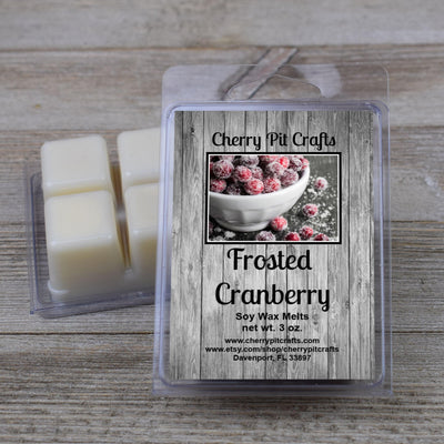 Frosted Cranberry Soy Wax Melts