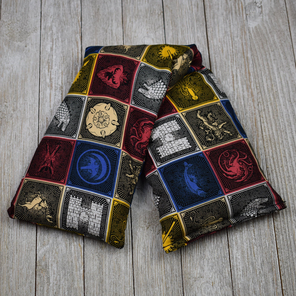 Cherry Pit Heating Pad - Game Of Thrones House Sigils