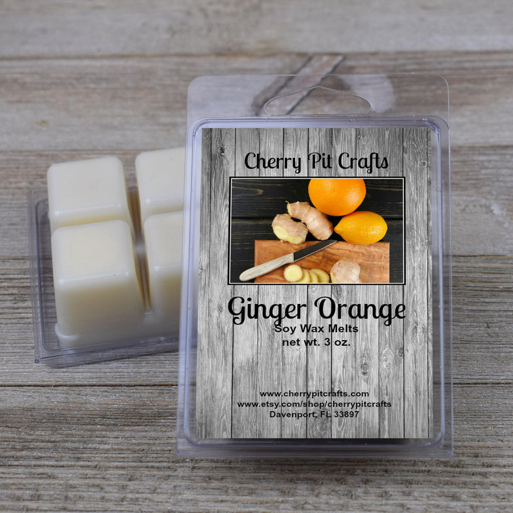 Ginger Orange Soy Wax Melts