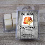Ginger Peach Soy Wax Melts