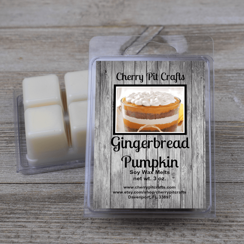 Gingerbread Pumpkin Soy Wax Melts