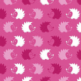 Cherry Pit Heating Pad - Hedgehog Pink