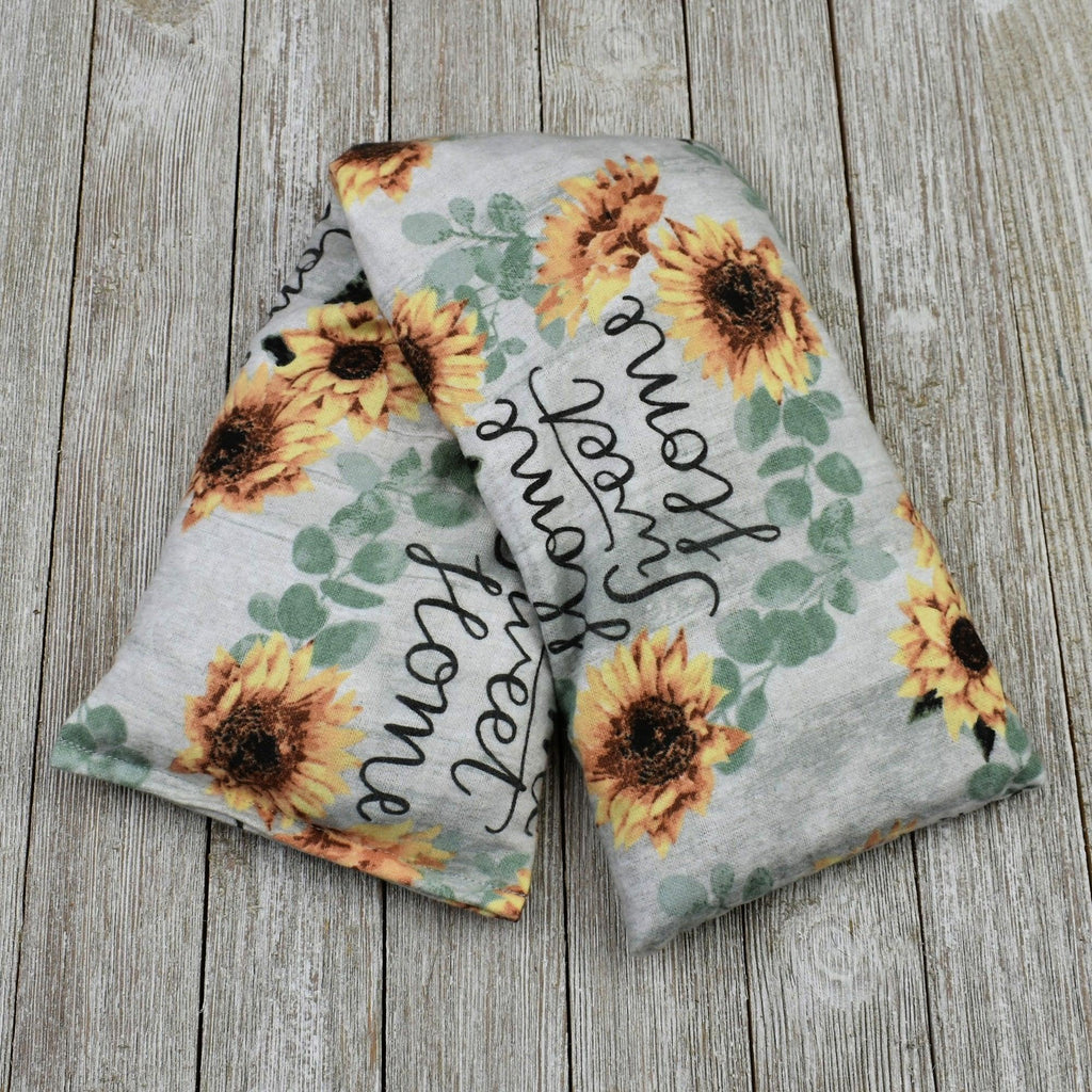 Cherry Pit Heating Pad - Home Sweet Home Sunflower