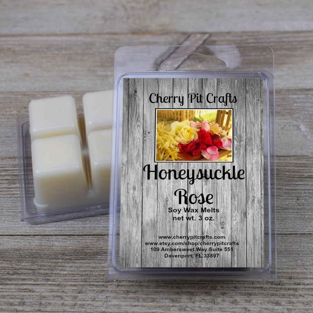 Honeysuckle Rose Soy Wax Melts