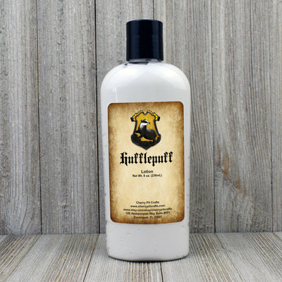 Hufflepuff Harry Potter Themed Goat Milk & Honey Body Lotion