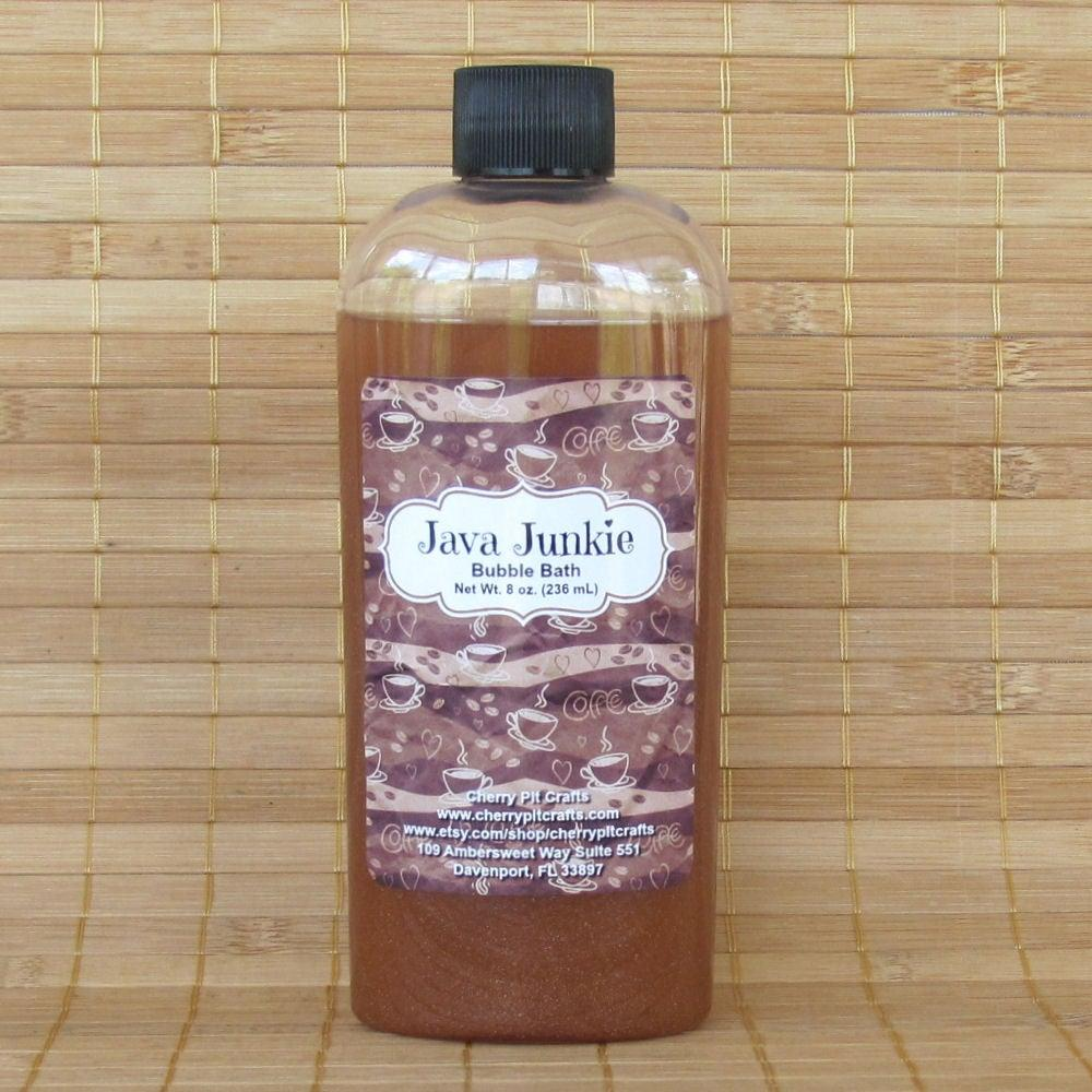 Java Junkie Bubble Bath