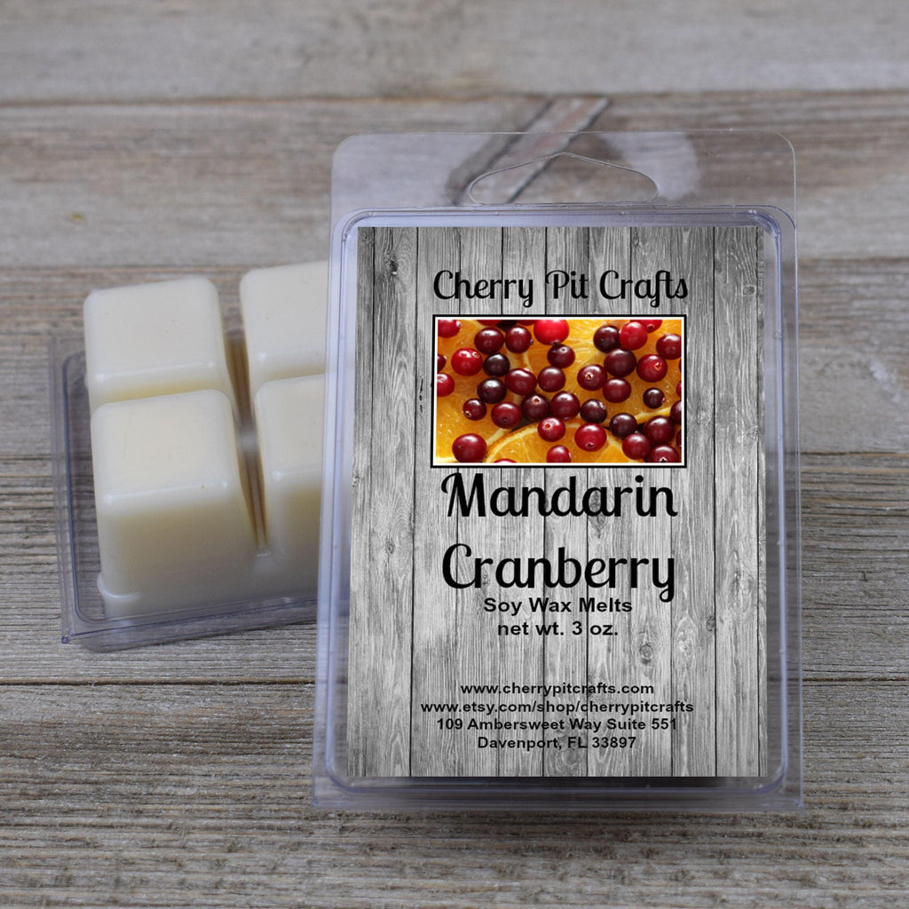 Mandarin Cranberry Soy Wax Melts