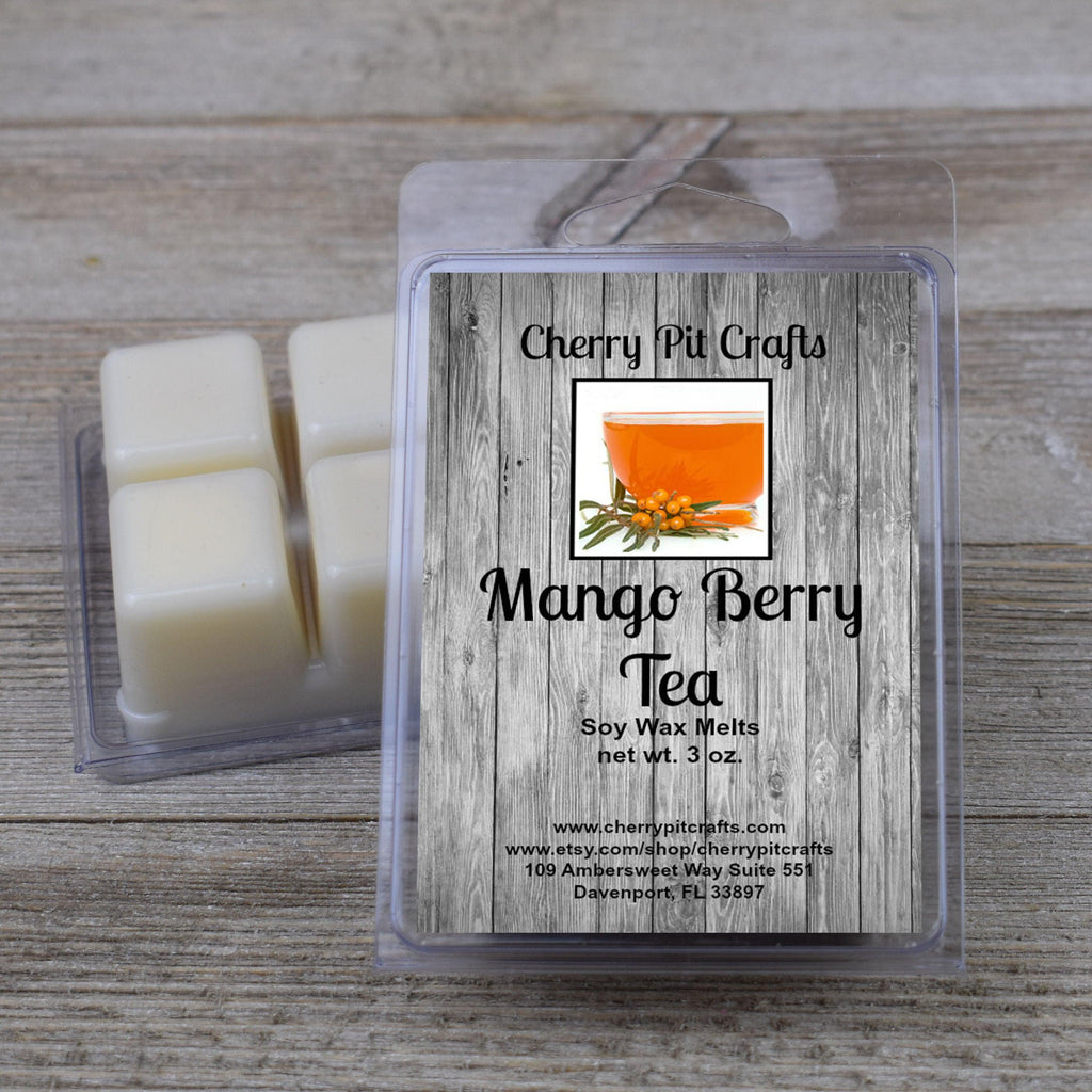 Mango Berry Tea Odor Neutralizing Soy Wax Melts