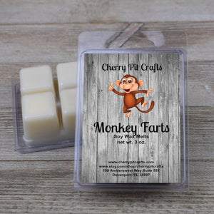 Monkey Farts Soy Wax Melts