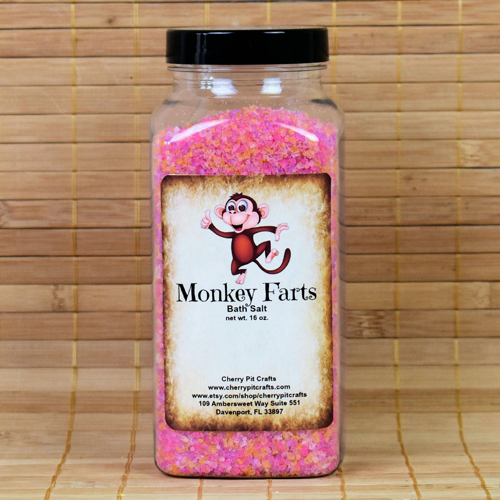 Monkey Farts Bath Salts