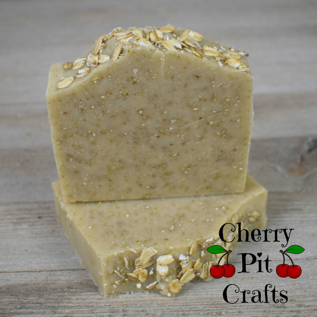 Pure and Natural Oatmeal Shea Butter Soap