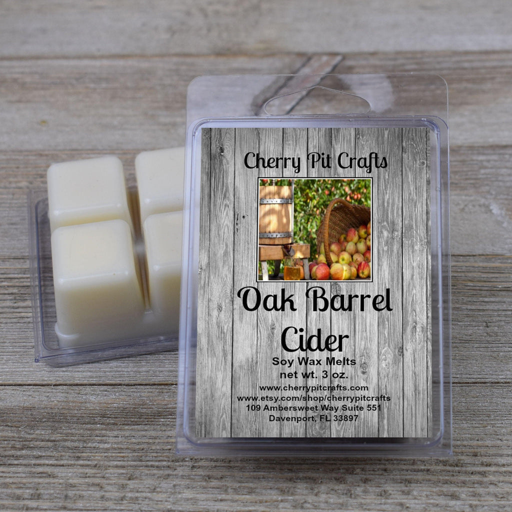 Oak Barrel Cider Soy Wax Melts