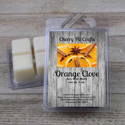 Orange Clove Soy Wax Melts