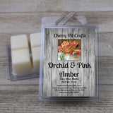 Orchid & Pink Amber Soy Wax Melts
