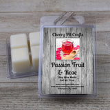 Passion Fruit & Rose Soy Wax Melts