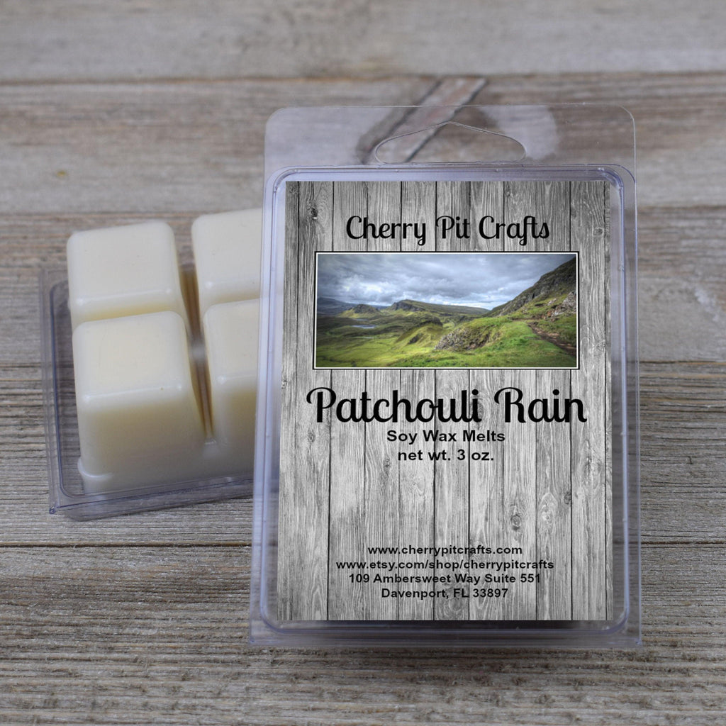 Patchouli Rain Soy Wax Melts