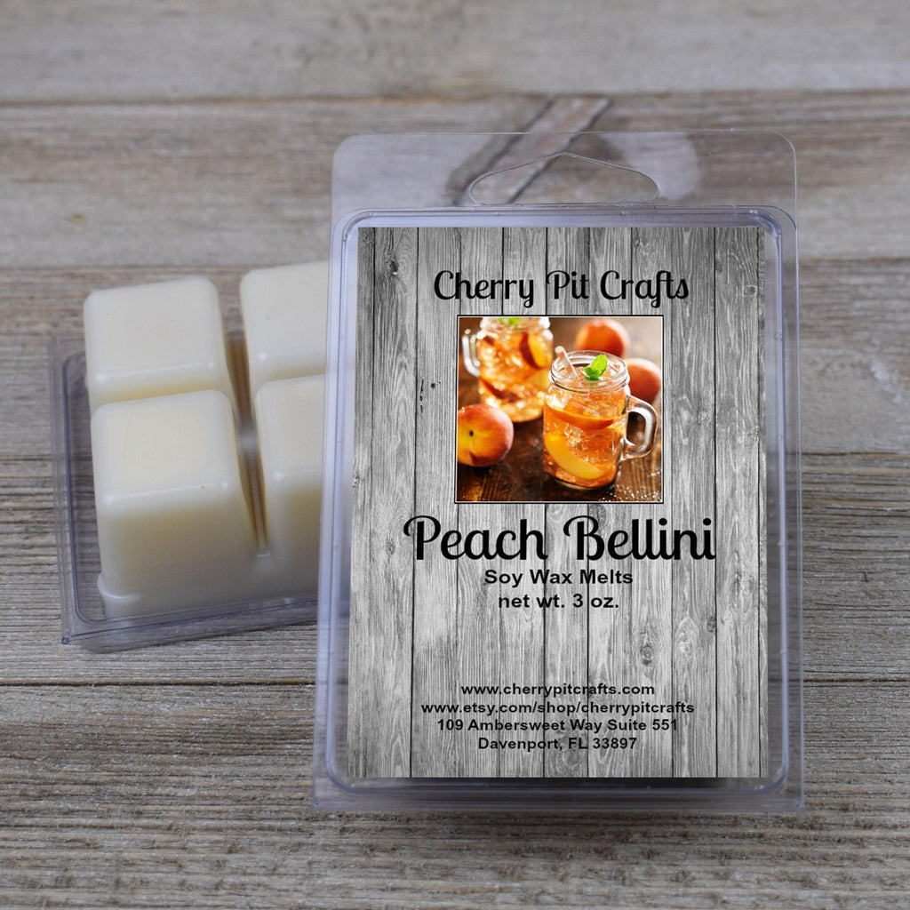 Peach Bellini Soy Wax Melts