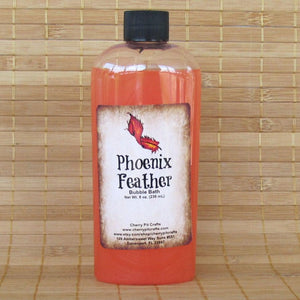 Phoenix Feather Harry Potter Inspired Bubble Bath